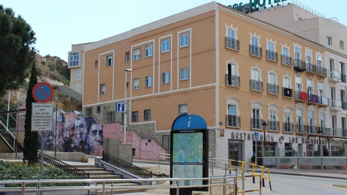 Hotel de Cartagena.