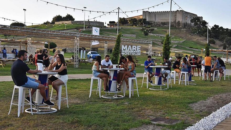 Marenostrum se convierte durante una semana en una terraza al aire libre