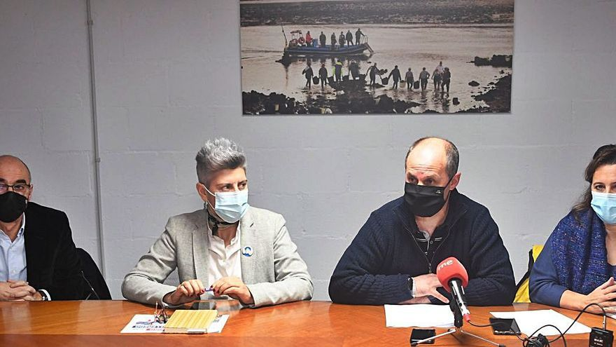 Mariscadores piden a Xunta y Estado una ayuda por el dragado de 700.000 euros