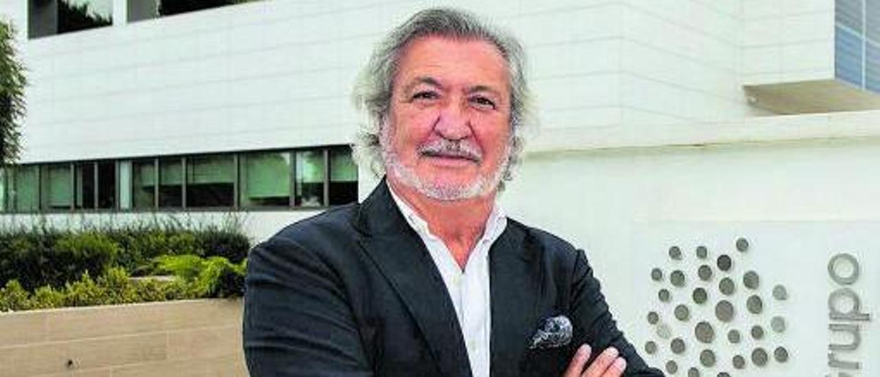 Luis Romero, propietario de Grupo Fulton,el pasado jueves | Germán Caballero