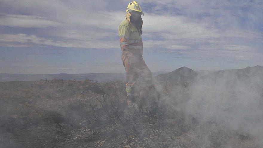 """Los incendios se triplican en abril por el combustible acumulado y la """"impunidad"""""""