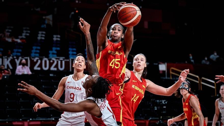España pasa a cuartos con una buena actuación de Laura Gil