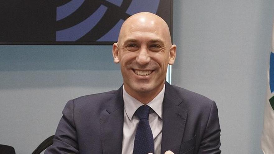 Rubiales, presidente de la Federación