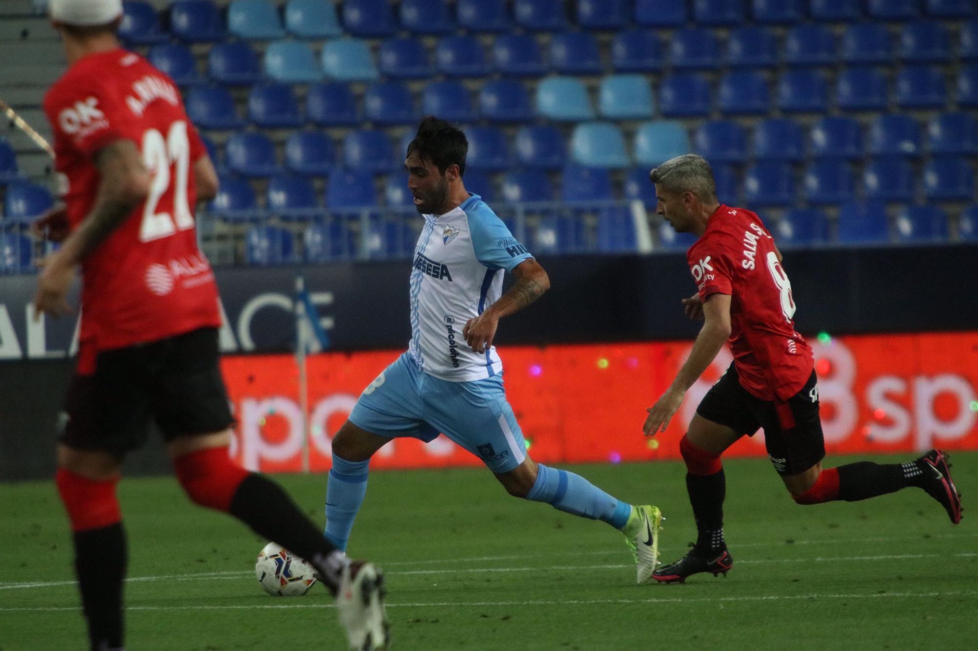 El Mallorca da por bueno el empate en Málaga