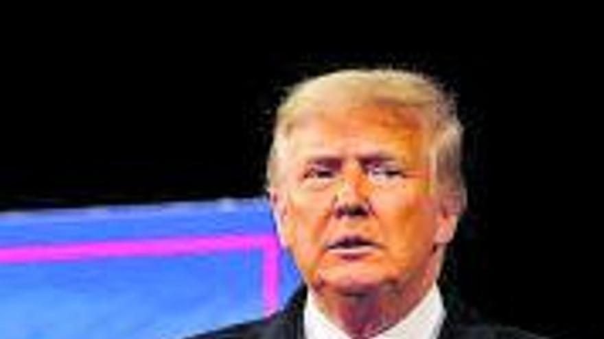 """""""Nos han robado, pero vamos a ganar"""", arenga Trump a sus incondicionales"""