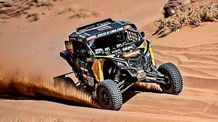Marc Coma brilla amb una segona plaça amb Fernando Alonso al Dakar