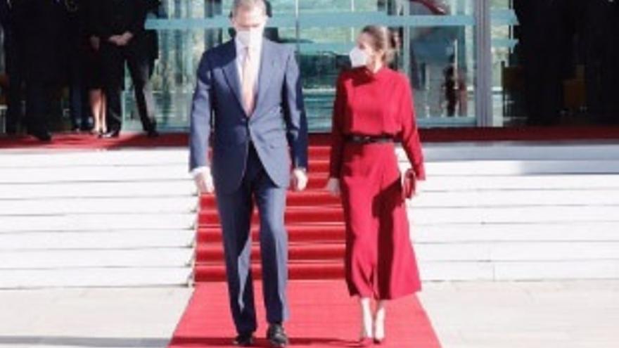 El espacio de Felipe y Letizia