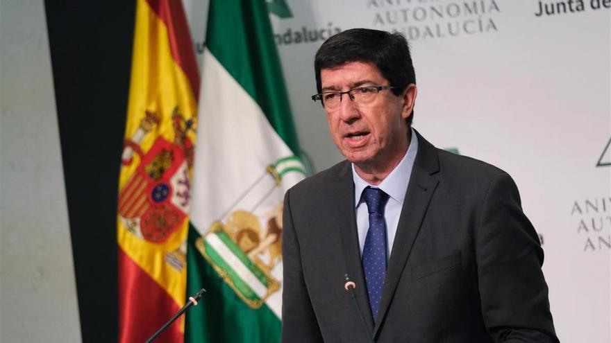 Juan Marín renueva su dirección con un nuevo portavoz