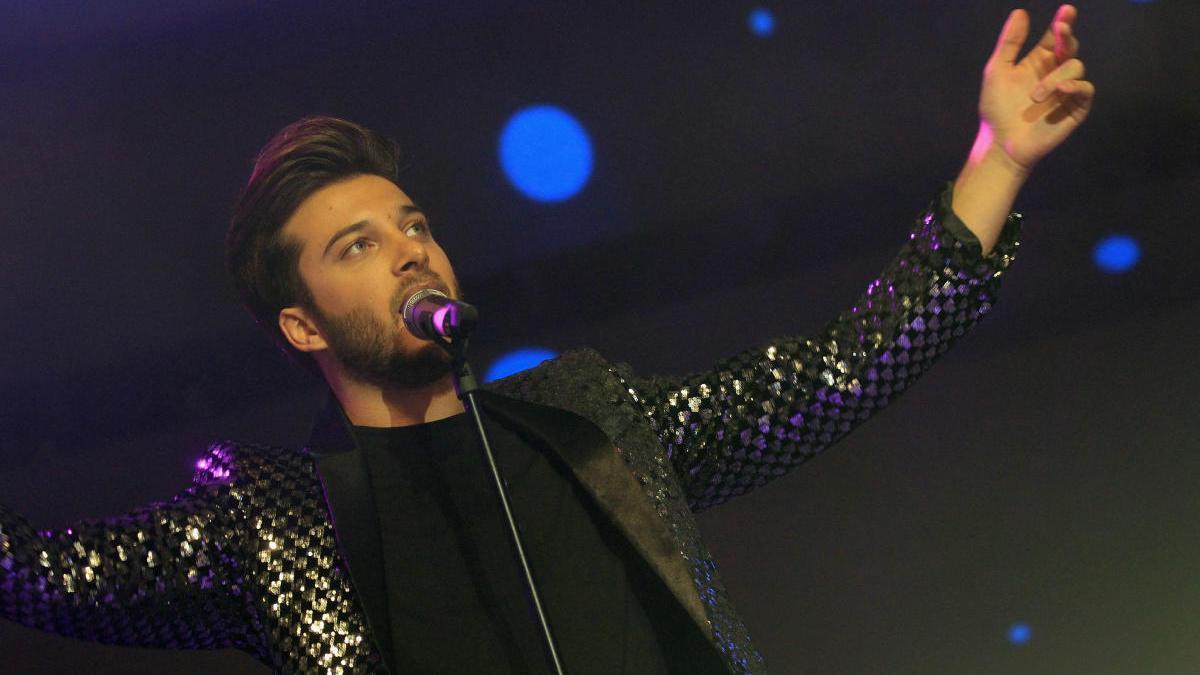 Blas Cantó, el representante español para Eurovisión.