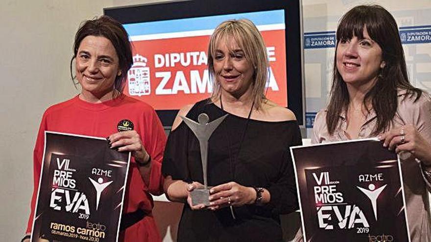 Presentación de los Premios Eva.