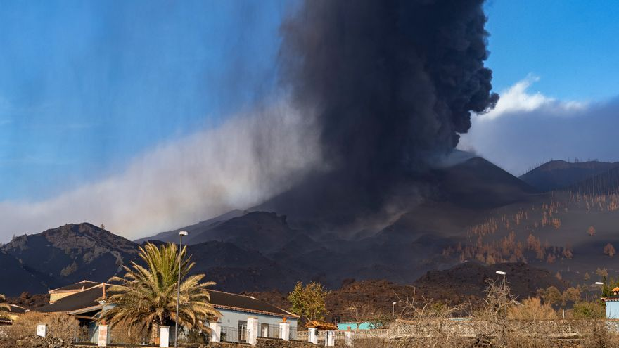 Empeora la calidad del aire en La Palma