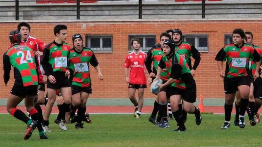 El Zamora RC U18 juega los cuartos de final de la Copa