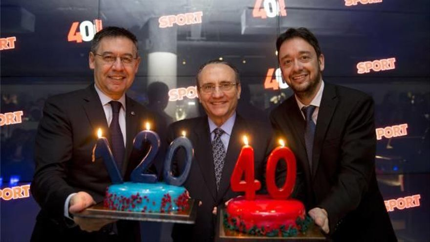 Sport celebra  su 40 aniversario