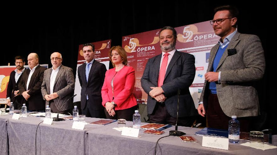 La Ópera de Las Palmas programa cinco títulos con Auyanet, Sartori y Pratt