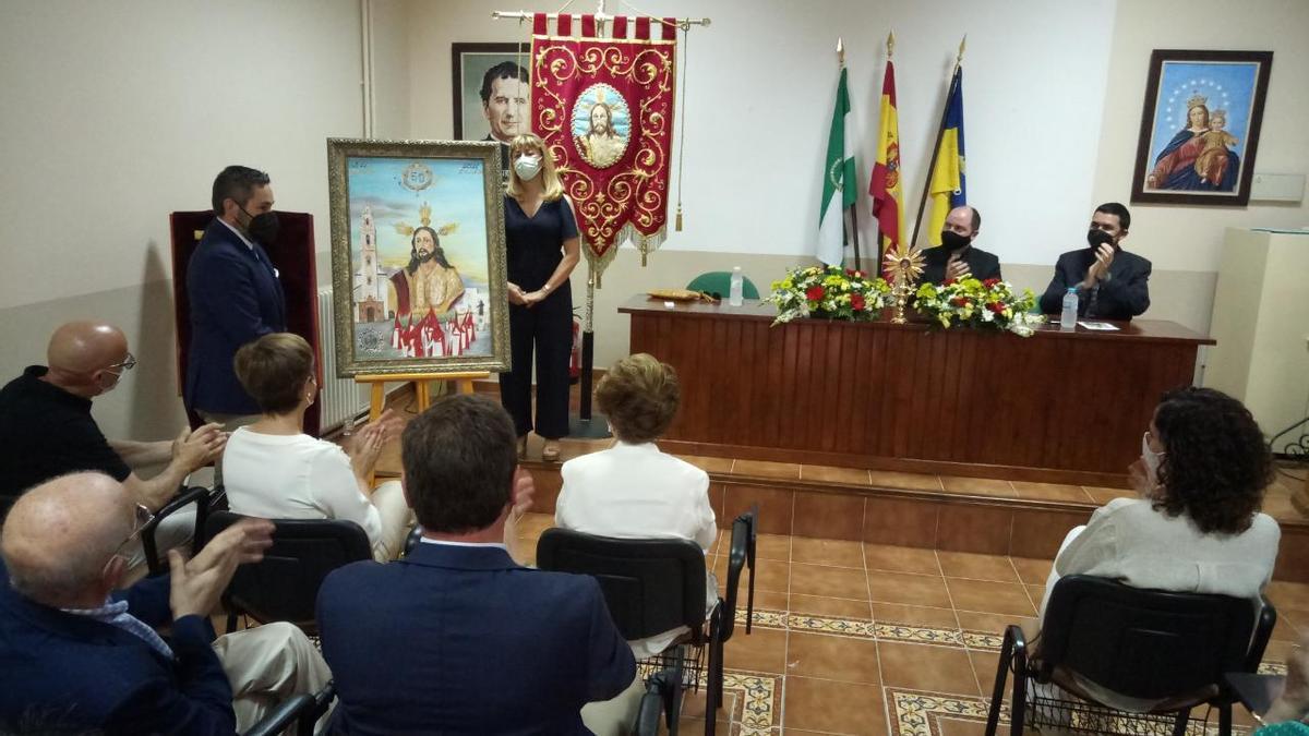 Presentación del cartel y programa del 50 aniversario de la Hdad. de la Borriquita.
