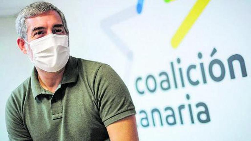 Clavijo avisa al Gobierno: «Coalición Canaria va a subir revoluciones»