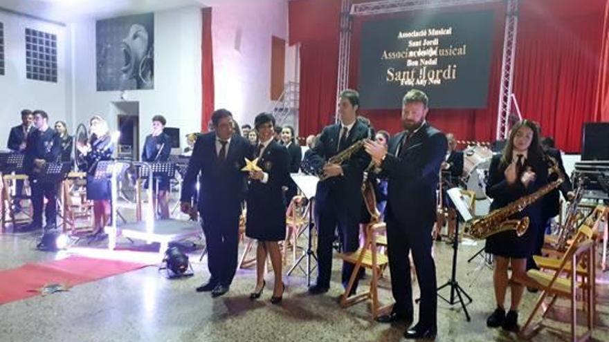 Música por Navidad en Sant Jordi
