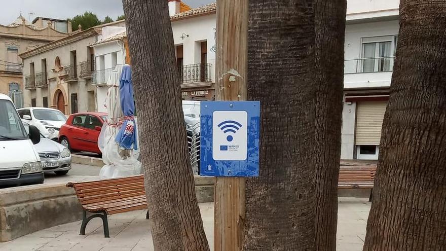 Buñol instala puntos wifi gratuitos por todo el municipio