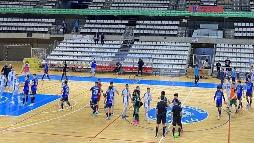 El Bisontes Castellón salva un punto que sabe a victoria ante el Leganés (3-3)