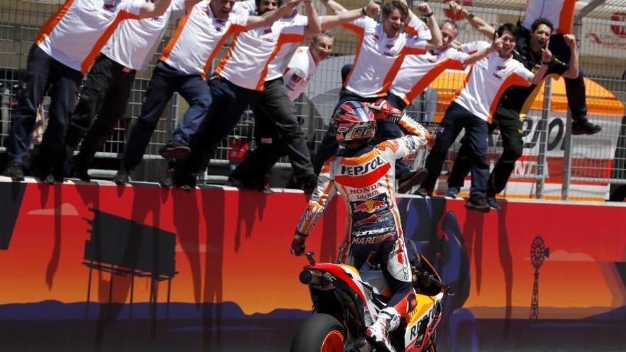 Marc Márquez conquista por sexta vez consecutiva el GP de Las Américas