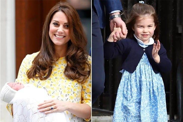 La hija del príncipe Guillermo de Inglaterra y Kate Middleton.