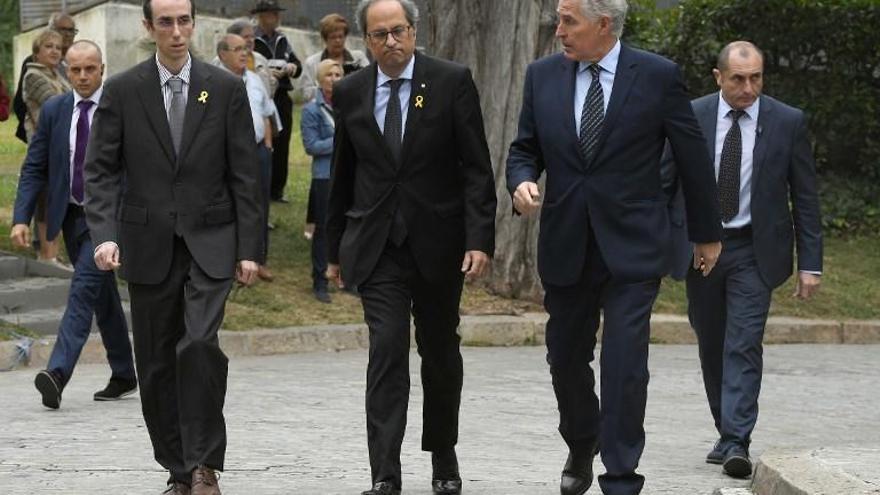 Familiares y amigos despiden a Montserrat Caballé en Barcelona