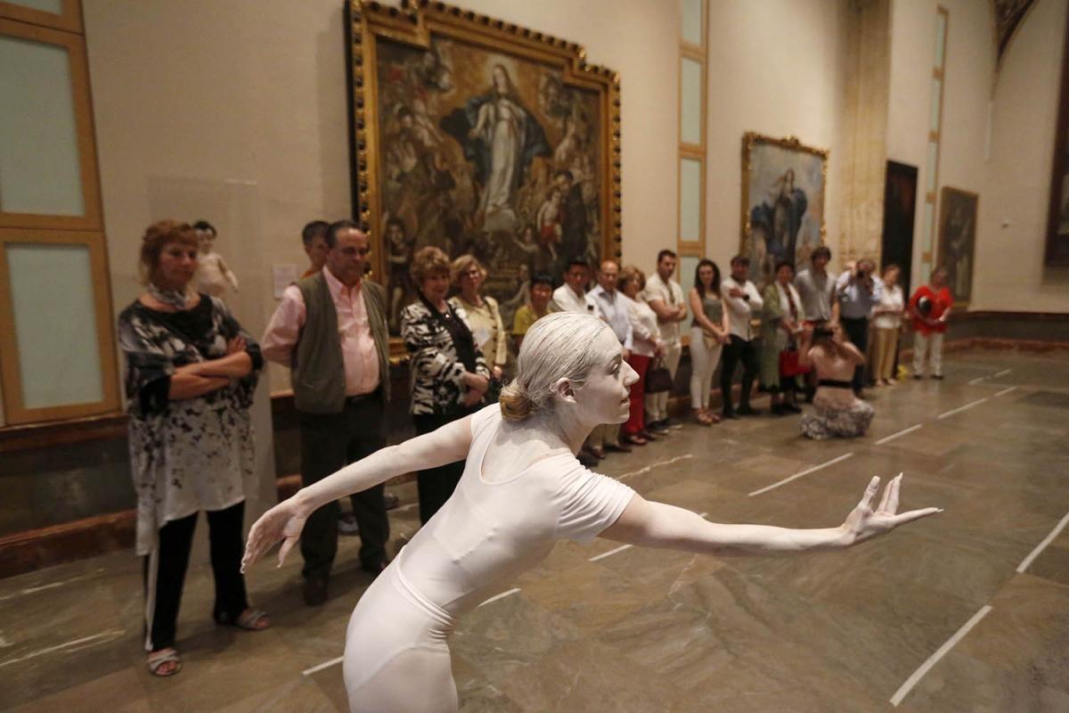 Día de los museos en el Bellas Artes con Elena Grish.