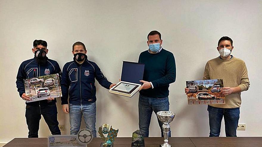 Cerdedo-Cotobade homenajea a Leiro y Martínez, por la conquista del título