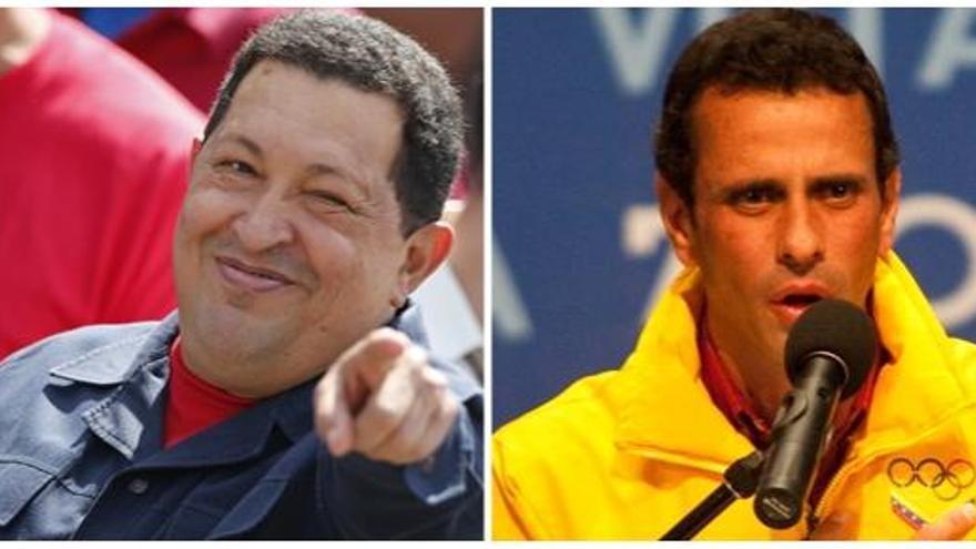 Chávez y Capriles hablan tras las elecciones venezolanas