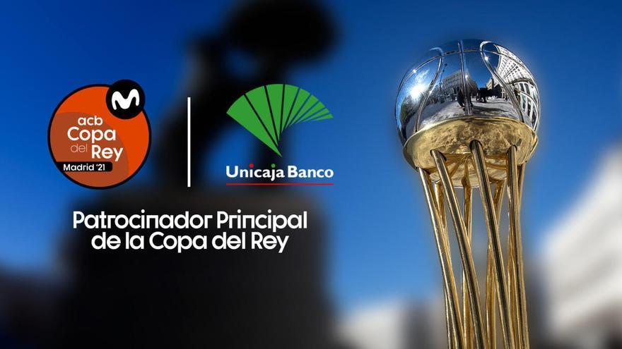 Unicaja Banco vuelve a ser patrocinador principal de la Copa del Rey de baloncesto