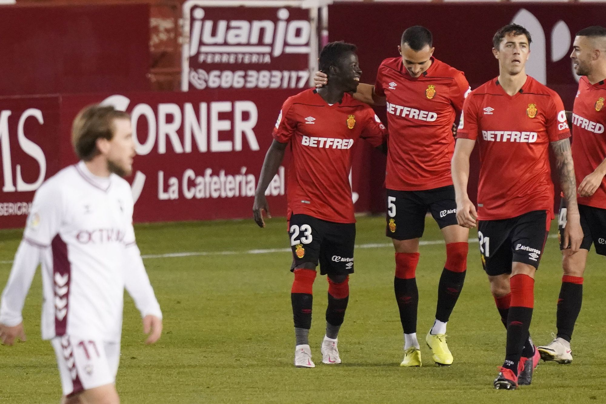 Albacete-Mallorca | Al conjunto bermellón le sale todo