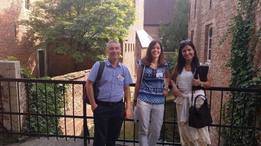 Los investigadores de la UDC Ana López, Ricardo Cao y María Amalia Jácome, reconocidos por su contribución a la Estadística