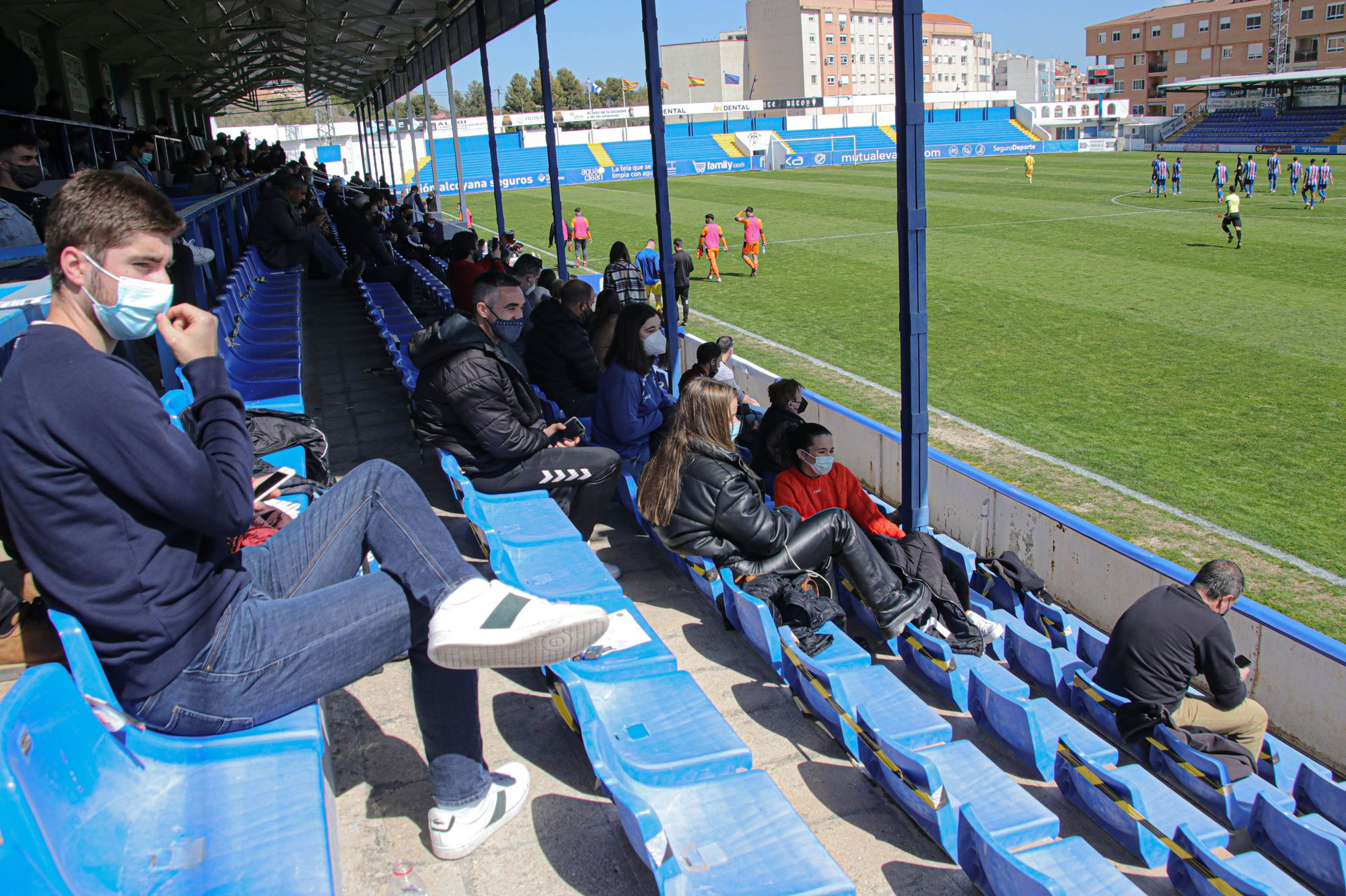 Las imágenes del Alcoyano - Mestalla