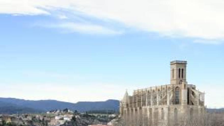 Un projecte universitari alemany donarà a la Seu de Manresa un alçat en 3D