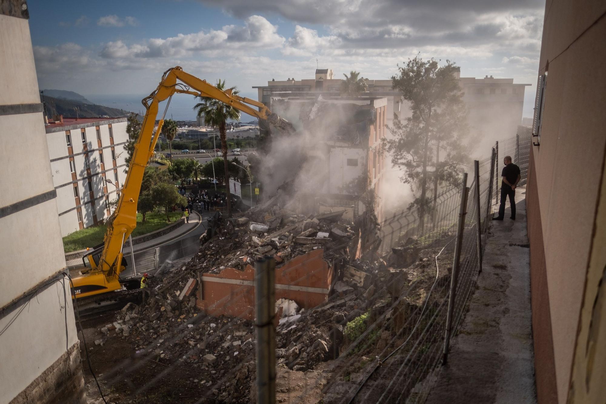 Comienza la demolición de Las Chumberas
