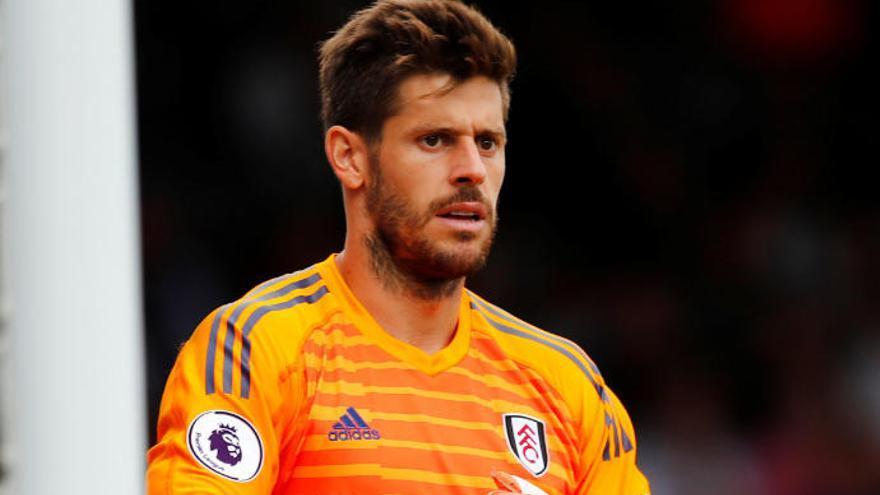 El meta grancanario Fabricio debuta con derrota con el Fulham