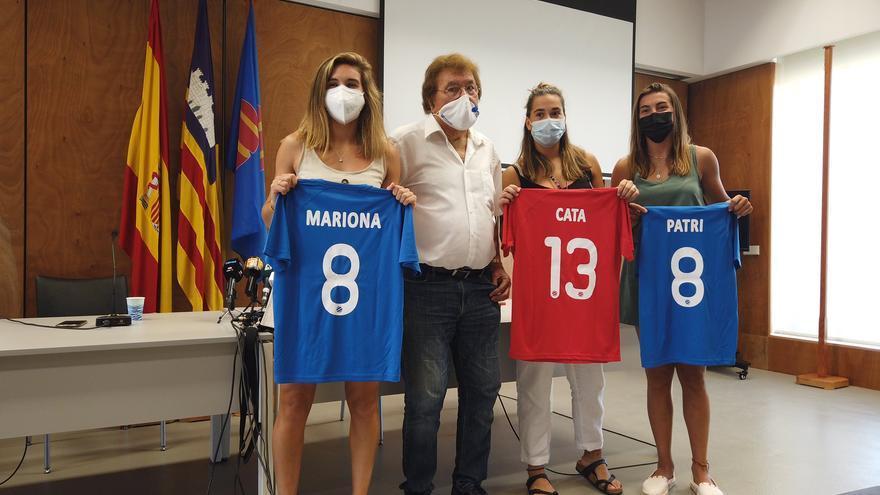 Rendidos a las campeonas de Europa: Mariona Caldentey, Patri Guijarro y Cata Coll