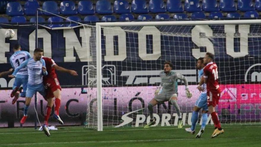 El Málaga sufre sin su afición