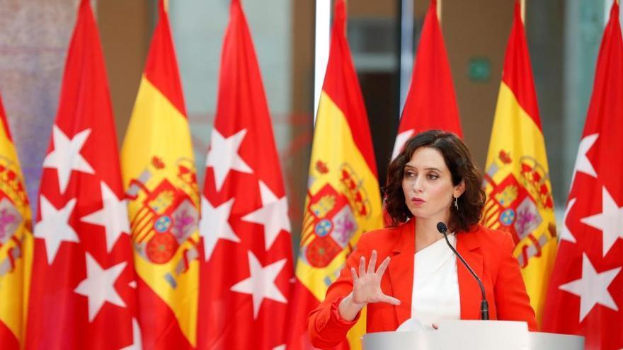 Ayuso considera que hay falta de médicos en España