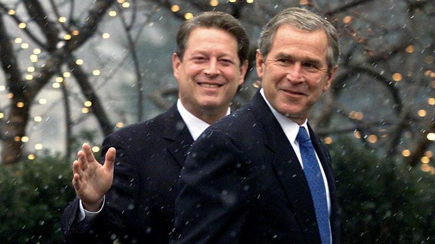 Cuando Gore perdió la presidencia ante Bush por 537 votos
