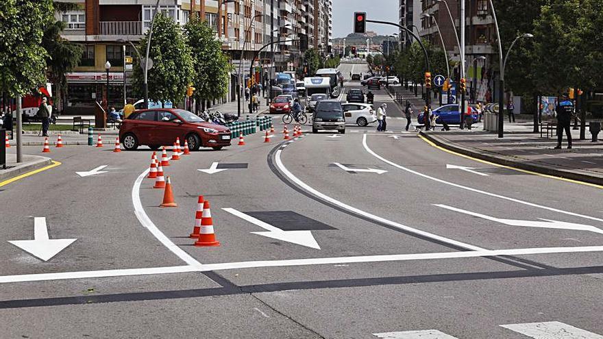 General Suárez Valdés y la avenida de Castilla ya tienen tres carriles hacia El Coto