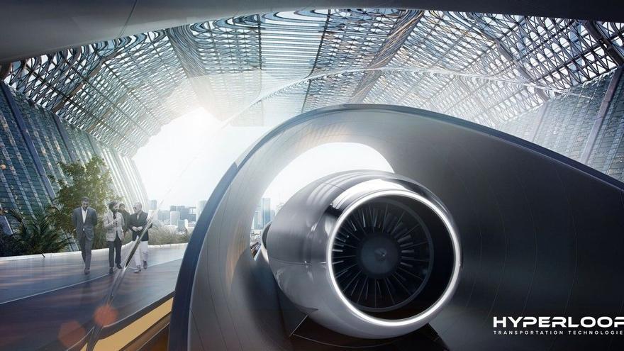 Hyperloop, el tren de Virgin que quiere sustituir al avión