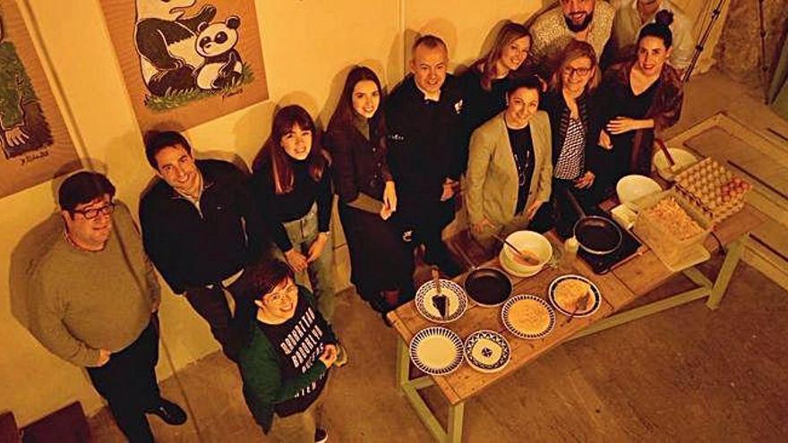 Betanzos promociona la tortilla entre 'influencers'
