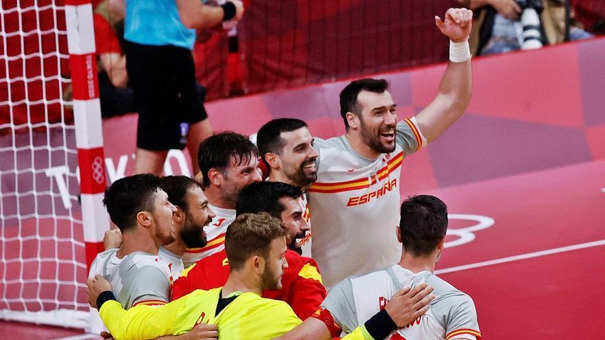 Los Hispanos logran un agónico triunfo ante Alemania en su debut