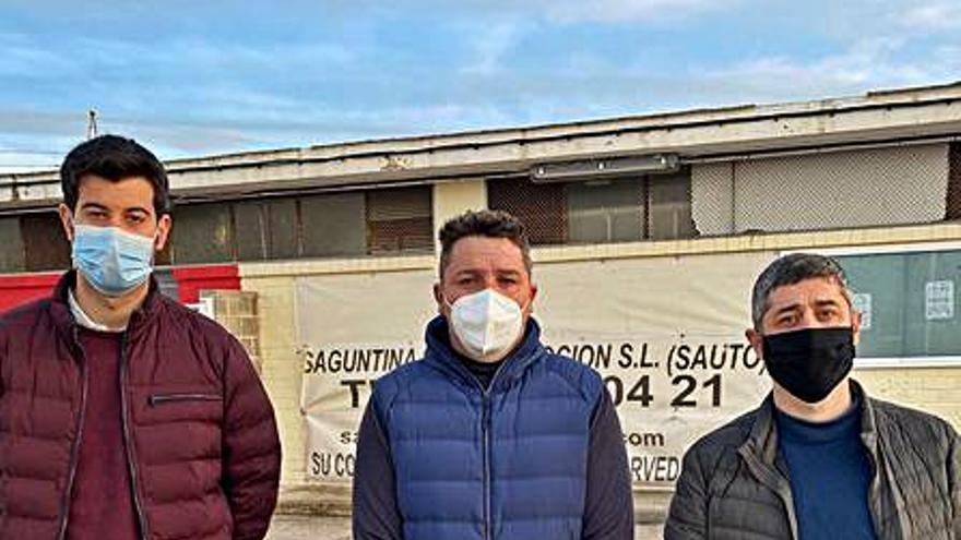 Iniciativa Porteña (IP) asume las demandas del Saguntino sobre su estadio