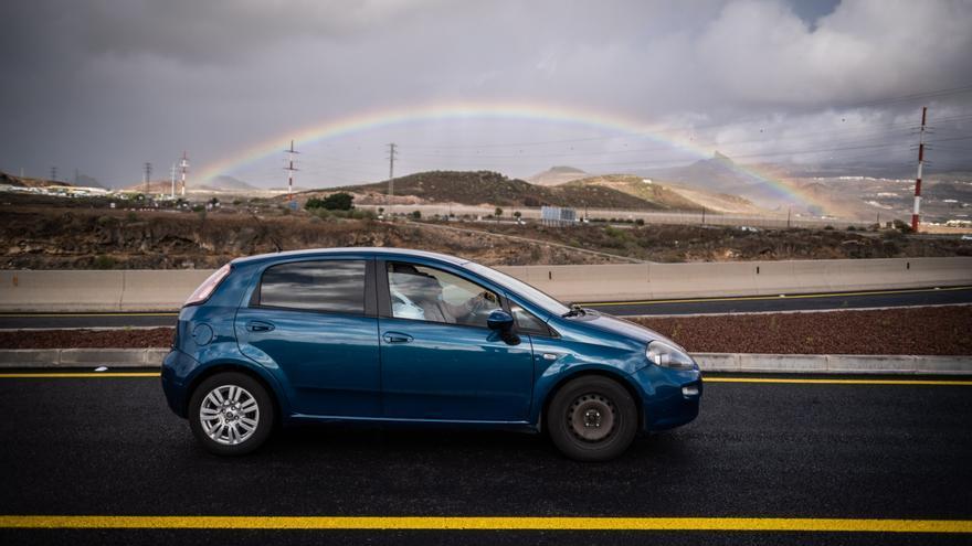 Abren al tráfico el primer tramo del enlace entre Las Chafiras y Oroteanda