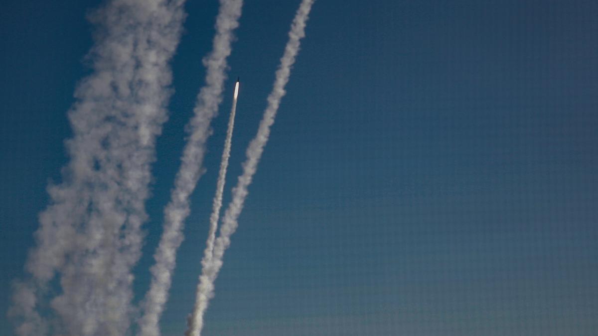 2.900 cohetes disparados desde Gaza hacia Israel en la actual escalada.