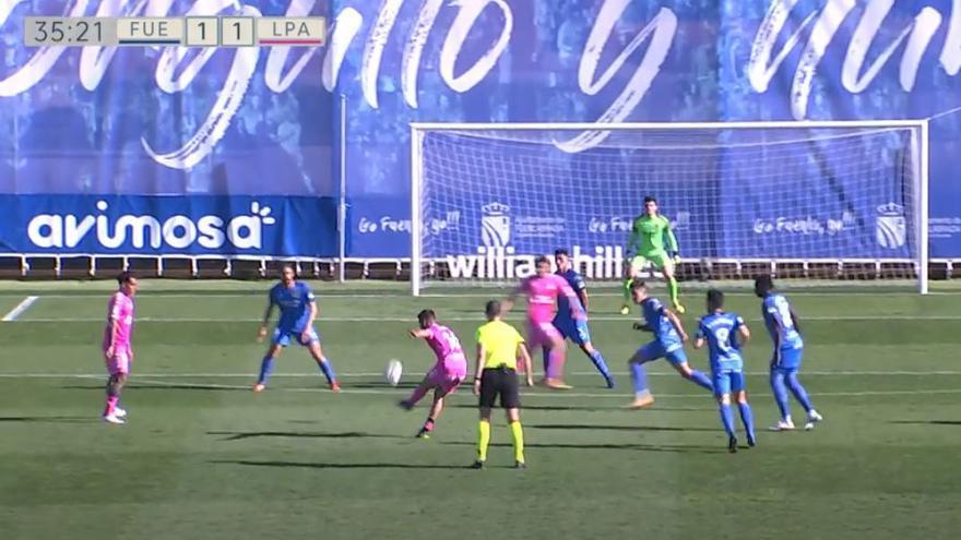 Vídeos de los goles, los VAR y resumen del partido CF Fuenlabrada 1 - 2 UD Las Palmas
