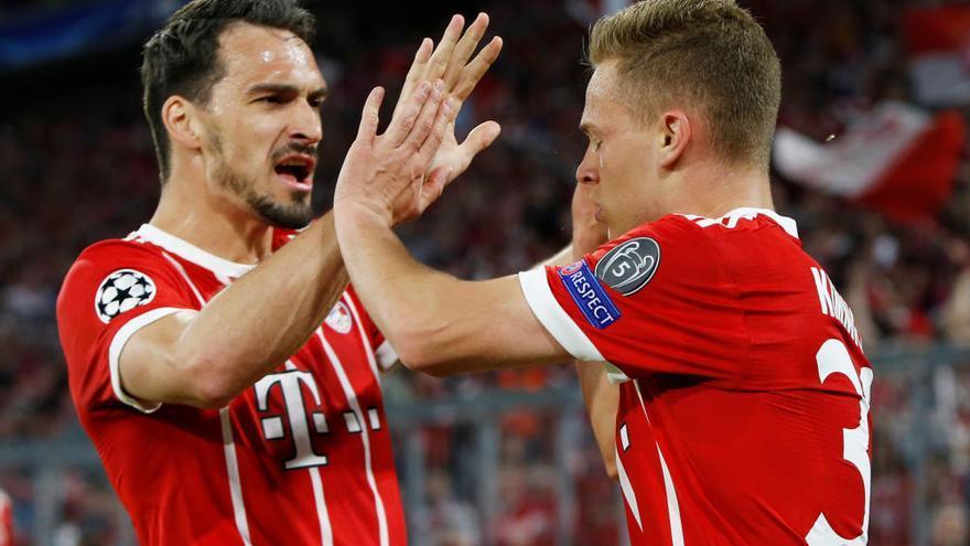 El Madrid s'acosta a la final amb una remuntada al camp del Bayern