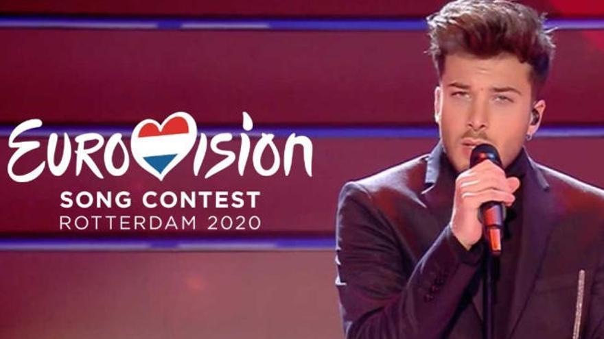 Eurovisión también se quedó en casa